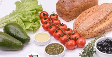 Хлібна запіканка - рецепт запіканки з хлібом, шинкою, сиром та руколою